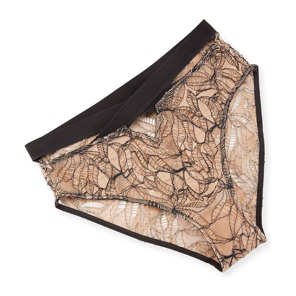 "else Bohemian Cross-Front Bikini Briefs in powder/slate - Else ""Bohemian"" lace briefs with cross-front detail...."