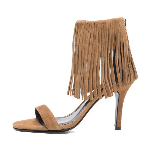 Elyse Walker Los Angeles Alex suede heels in neutrals