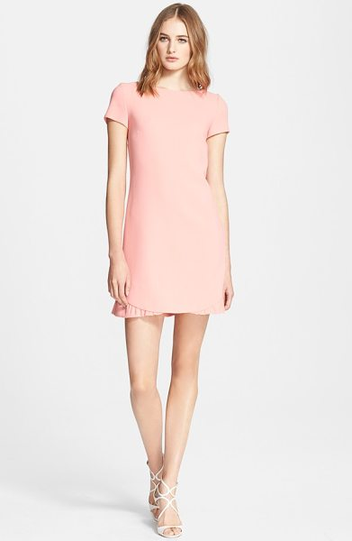 EMILIO PUCCI ruffle hem stretch wool dress - A partially ruffled hem gives flirty flounce to a...