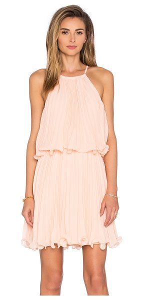 Endless Rose Ariana Dress in blush - Poly blend. Fully lined. Back tie closure. ENDR-WD39....
