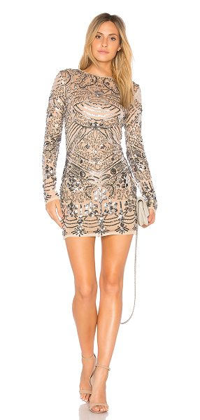 ENDLESS ROSE Sequin Mini Dress - Self & Lining: 100% poly. Dry clean only. Fully lined....
