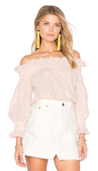 ENDLESS ROSE x REVOLVE Off the Shoulder Top - 100% cotton. Hand wash cold. Elastic neckline and sleeve...