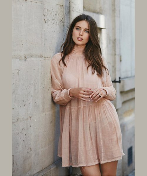 Endless Summer Oh my baby dress in nude - Made from our sheer and gauzy Endless Summer fabric this...