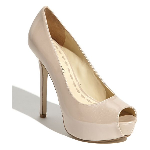 ENZO ANGIOLINI 'tanen' pump - Sculpted shape defines an alluring platform pump lifted...