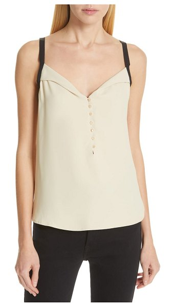 Equipment chandelle camisole in beige - Wear it as a base layer or let it have the freestyle...