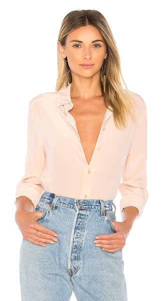 Equipment Essential Button Up in blush - 100% silk. Dry clean only. Button front closures. Button...