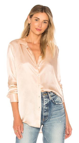 Equipment Essential Shine Shirt in rose