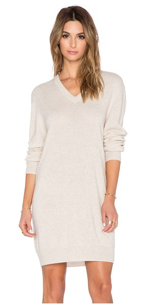 EQUIPMENT Eunice cashmere sweater dress - Cashmere blend. Dry clean only. Unlined. Rib knit edges....