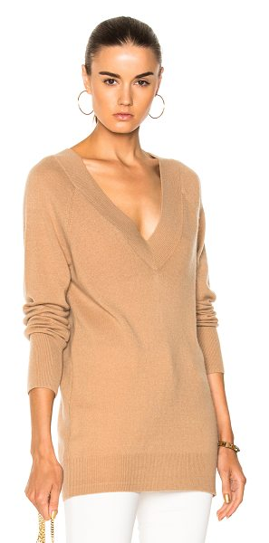 Equipment Linden Sweater in neutrals - 100% cashmere.  Made in China.  Dry clean only.  Knit...