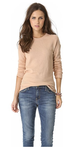 Equipment sloane cashmere sweater in new nude - Equipment's signature Sloane sweater, rendered in soft...