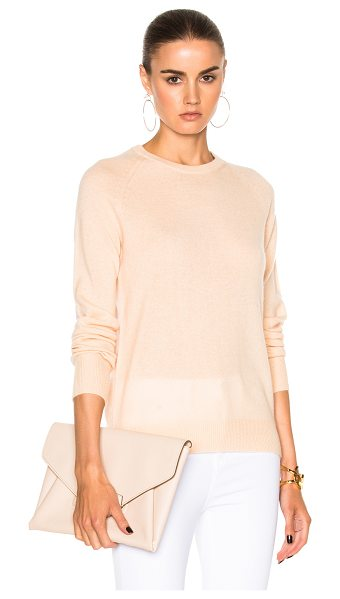 Equipment Sloane Sweater in neutral - 100% cashmere.  Made in China.  Dry clean only.  Knit...
