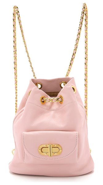 Erin Dana Mini bond street backpack in blush - Exclusive to Shopbop. A miniature Erin Dana backpack...