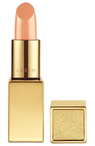 Estee Lauder Aerin beauty rose balm lipstick in lady beige