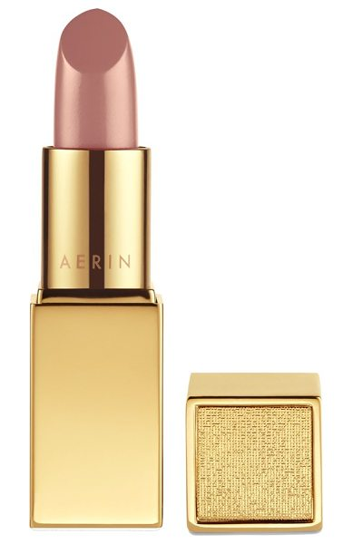 Estee Lauder Aerin beauty rose balm lipstick in perfect nude