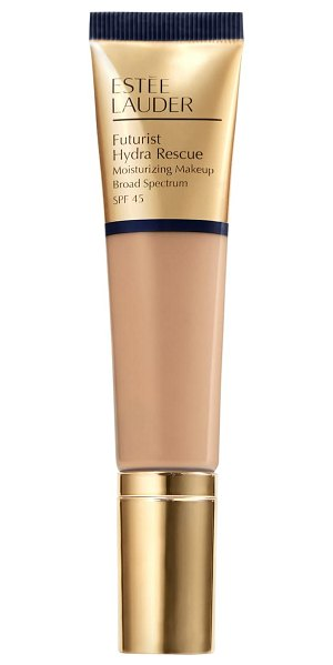 Estee Lauder futurist hydra rescue moisturizing makeup foundation spf 45 in 4n1 shell beige