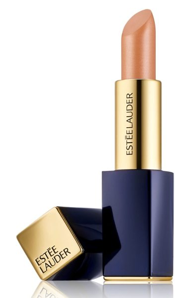 Estee Lauder pure color envy metallic matte sculpting lipstick in 110 naked steel - What it is: A matte lipstick that goes where no matte...