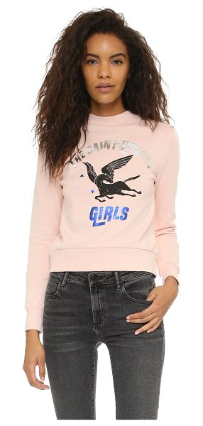 ETRE CECILE The saint-honore girls sweatshirt in pink