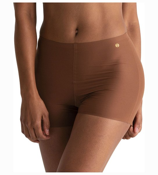 Evelyn & Bobbie Mid-Rise Girlshorts 2-Pack in clay