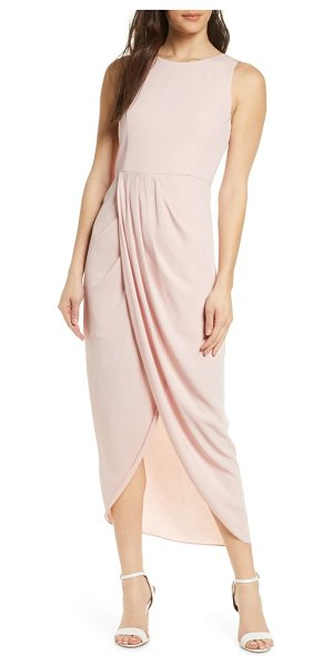 EVER NEW lucy sleeveless tulip dress in pink