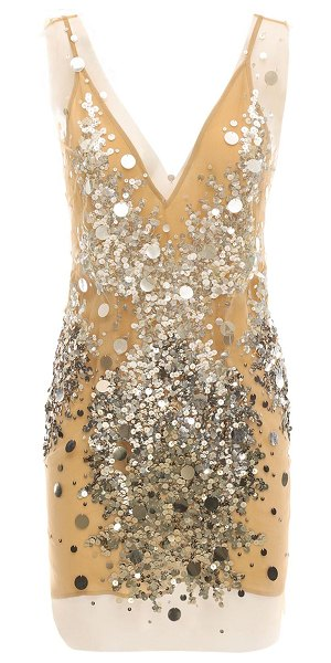 Faith Connexion Sequined mini dress in pink