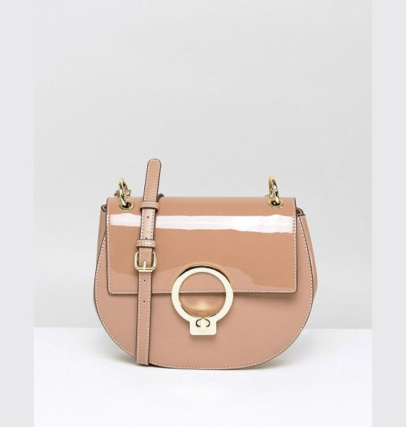 Faith Metalwork Cross Body Bag in pink