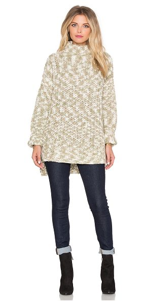 FAITHFULL THE BRAND Rebel sweater - 100% viscose. Hand wash cold. Side slit detail....
