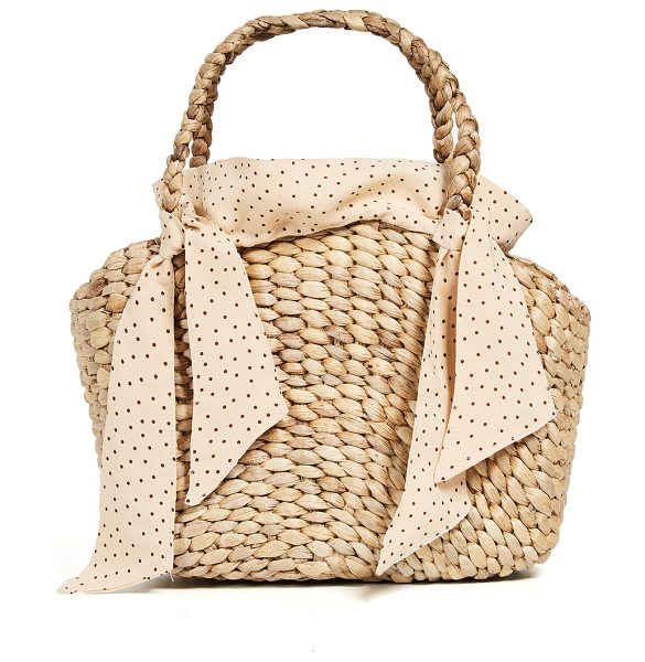 Faithfull The Brand roberta bag in natural - Fabric: Straw Tie detail at handles Lined Dust bag...
