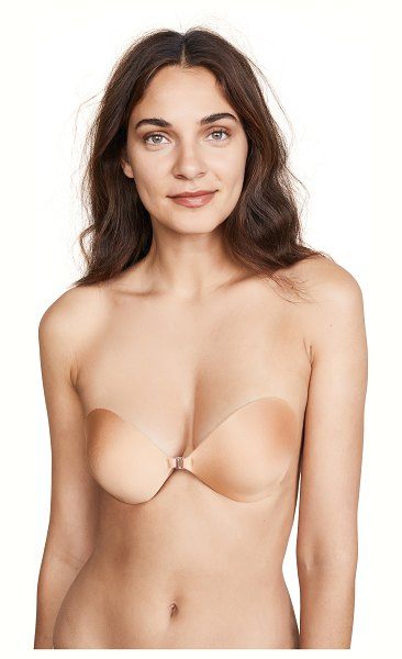 Fashion Forms seamless push up bra in mocha