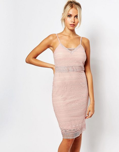 Fashion Union Cami Bodycon Dress in pink - Body-Conscious dress by Fashion Union, Lightweight lined...