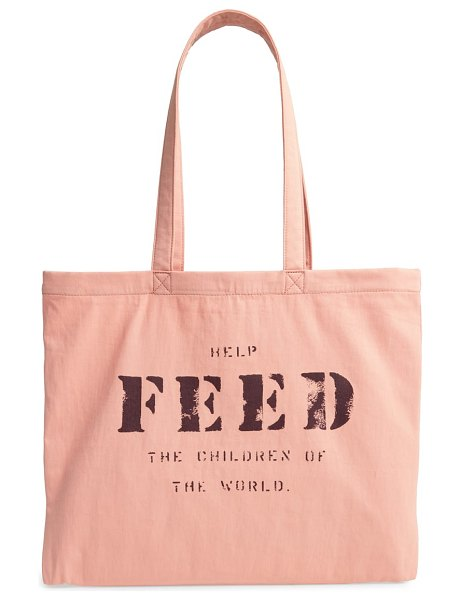 FEED 10 tote in pink