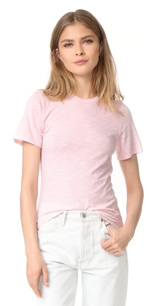 Feel the Piece nicola top in peony pink - This casual Feel The Piece tee is cut from breezy...