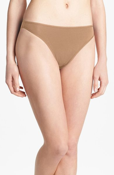 Felina 'sublime' high cut briefs in fawn - Classic high-cut briefs in soft, smooth stretch modal...