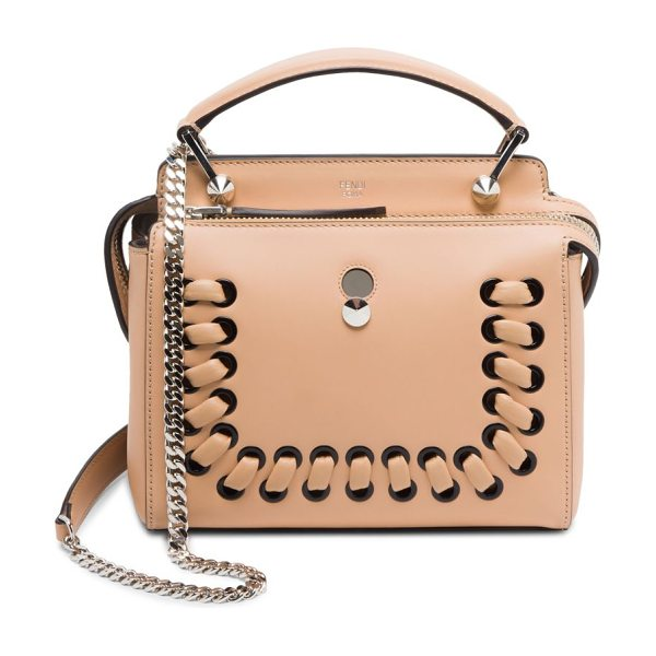 FENDI baltico shoulder bag - Shoulder bag featuring lace-up detail in front. Top...