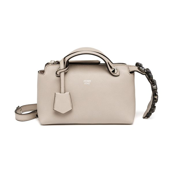 Fendi By the way small satchel in powder - Crafted of smooth, buttery leather, this signature Fendi...