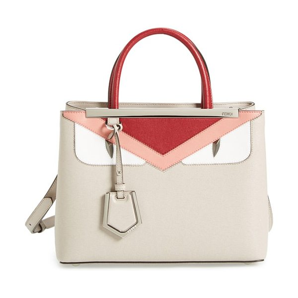 Fendi Petit 2jours in powder/ribbes - Playful yet precisely crafted, the Fendi Monster bag is...