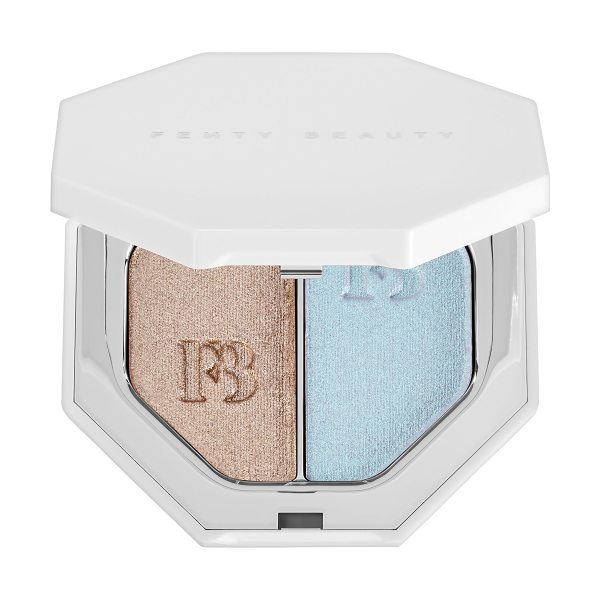 FENTY BEAUTY by Rihanna Killawatt Foil Freestyle Highlighter Duo Sand Castle/ Mint'd Mojito 2 x - A weightless, long-wear cream-powder hybrid highlighter...