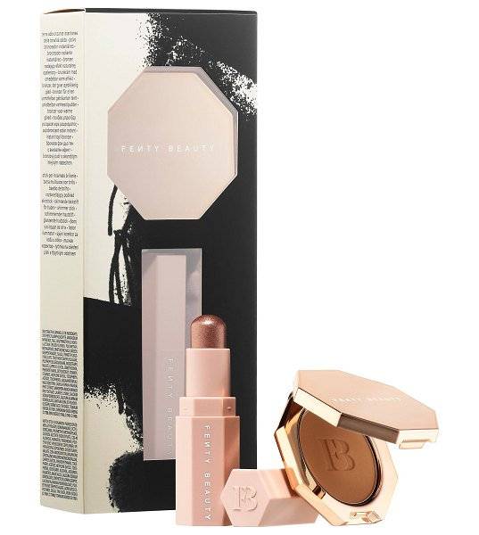 FENTY BEAUTY by Rihanna Lil' Bronze Duo Caramel Cutie & Sinamon - A must-have set of on-the-fly bronzing essentials,...