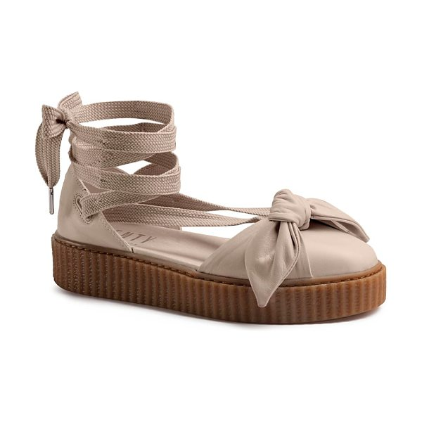 FENTY PUMA BY RIHANNA Fenty Puma x Rihanna Bow Creeper Sandals - Fenty Puma x Rihanna Bow Creeper Sandals-Shoes