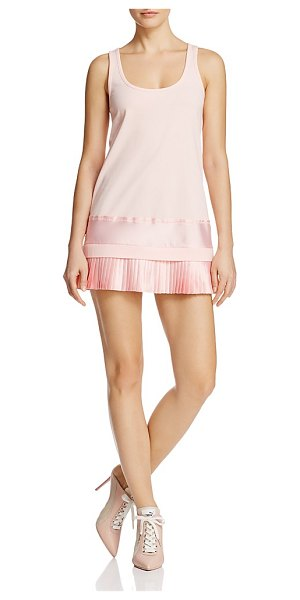 FENTY PUMA by Rihanna Fenty Puma x Rihanna Pleated Hem Mini Dress in pink - Fenty Puma x Rihanna Pleated Hem Mini Dress-Women