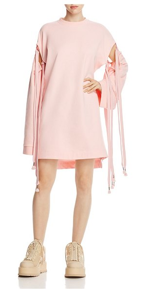 FENTY PUMA BY RIHANNA Fenty Puma x Rihanna Tie-Sleeve Sweatshirt Dress in pink - Fenty Puma x Rihanna Tie-Sleeve Sweatshirt Dress-Women