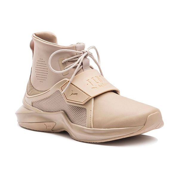 FENTY PUMA by Rihanna Fenty Puma x Rihanna Women's Trainer Hi Sneakers in beige - Fenty Puma x Rihanna Women's Trainer Hi Sneakers-Shoes