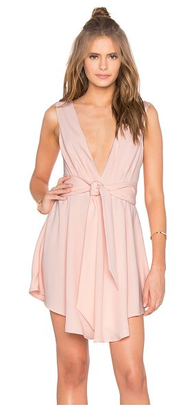 Finders Keepers Collide Dress in pink - Self: 95% poly 5% elastaneLining: 100% poly. Hand wash...