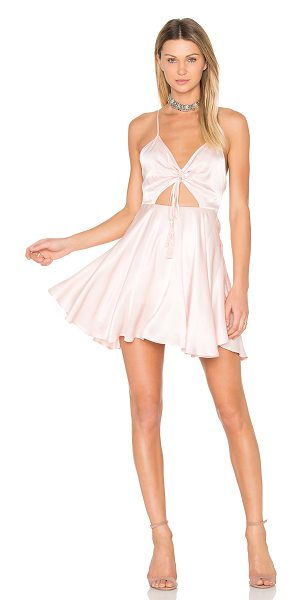 Finders Keepers Fernando Mini Dress in pink - Self: 100% viscoseLining: 95% poly 5% elastane. Hand...