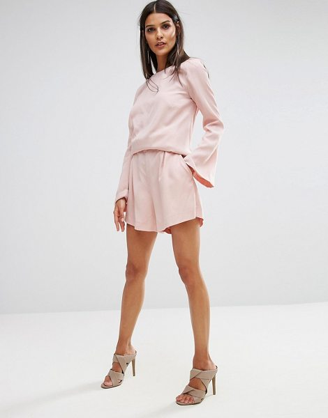 "Finders Keepers Finders Aster Short Co-ord in pink - """"Shorts by Finders Keepers, Soft-touch woven fabric,..."