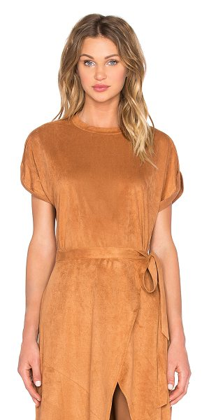 Finders Keepers High time top in tan - 100% poly. Hand wash cold. FIND-WS101. FX160321T....