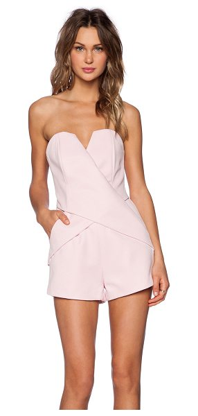 Finders Keepers Inbetween days romper in pink