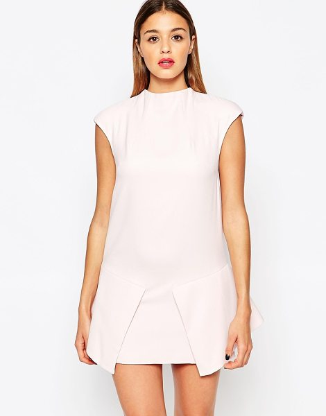 Finders Keepers Take a bow dress in powder pink