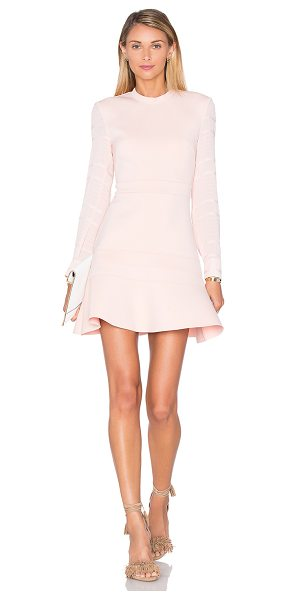 Finders Keepers Without You Dress in pink - Self: 62% poly 29% nylon 9% elastaneContrast: 97% poly...