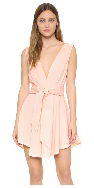 Finders Keepers collide dress in pink - A swingy findersKEEPERS mini dress with a deep V...