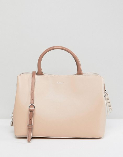 Fiorelli bethnal triple compartment tote in nudemix - Cart by Fiorelli, Faux-leather outer, Lined design, Twin...